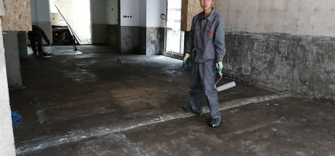 『案例分享』〡昆山亭林山庄-老别墅小区底层地面防水工程